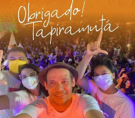 Prefeito Roberto Venâncio de Tapiramutá PE: um levantado do chão!