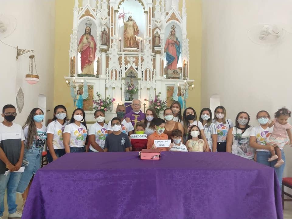 Jeremoabo BA: catequese e Apostolado da Oração homenageiam Padre Ramos