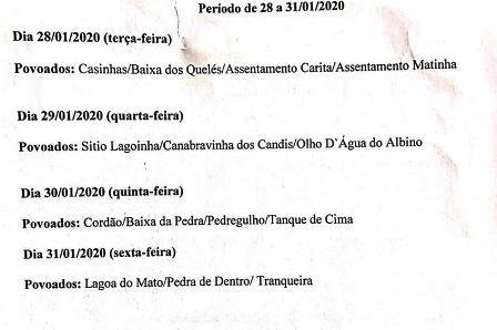 Jeremoabo BA: divulgado calendário para inscrição no Garantia Safra