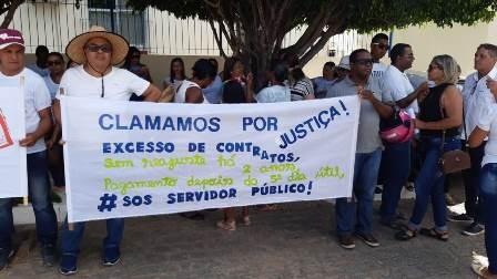 Jeremoabo BA: a luta de Davi contra Golias. Servidores continuam protesto.
