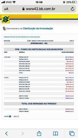 Jeremoabo BA: Prefeitura sofre novo bloqueio INSS, segue sem pagar salários e servidores e comércio sofrem