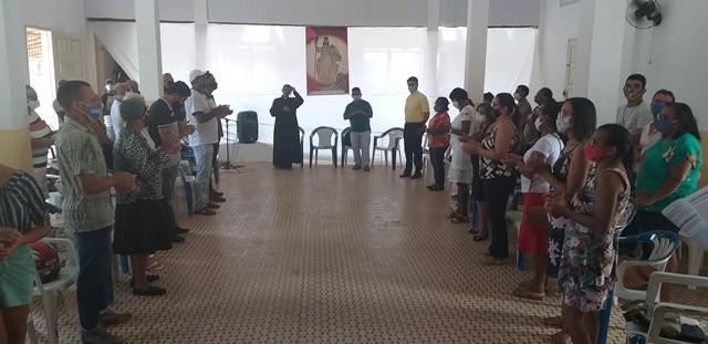 Jeremoabo BA: Paróquia teve Assembléia com comunidades, grupos e movimentos com o novo pároco