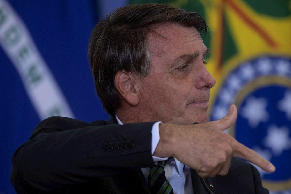 O presidente Jair Bolsonaro em evento em Campinas (SP) - (Foto: Reprodução )