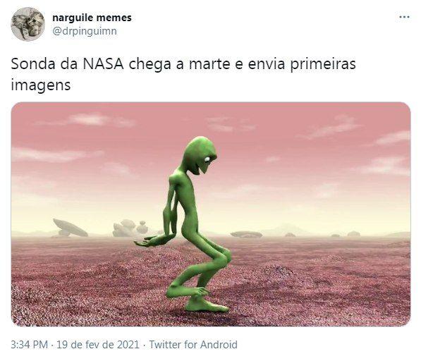 Feito da Nasa rendeu uma série de memes antes mesmo que a primeira foto fosse divulgada - (Foto: Reprodução: Twiter)