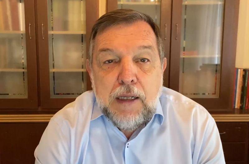 Flávio Arns foi o relator do projeto de lei que cria essa data - (Foto: Reprodução TV Senado)