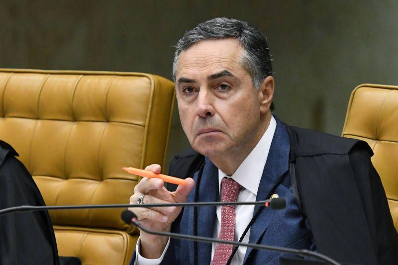 O ministro Luís Roberto Barroso, do STF: 'Suponho que a comissão vá funcionar' - (Foto: Carlos Moura/SCO/STF - 04.03.2020)
