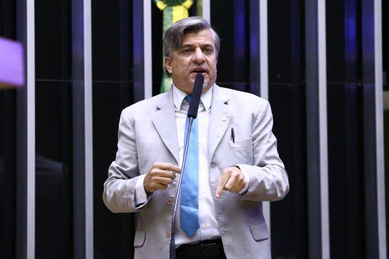 Deputado Boca Aberta, autor do projeto de lei - (Foto: Pablo Valadares/Câmara dos Deputados)