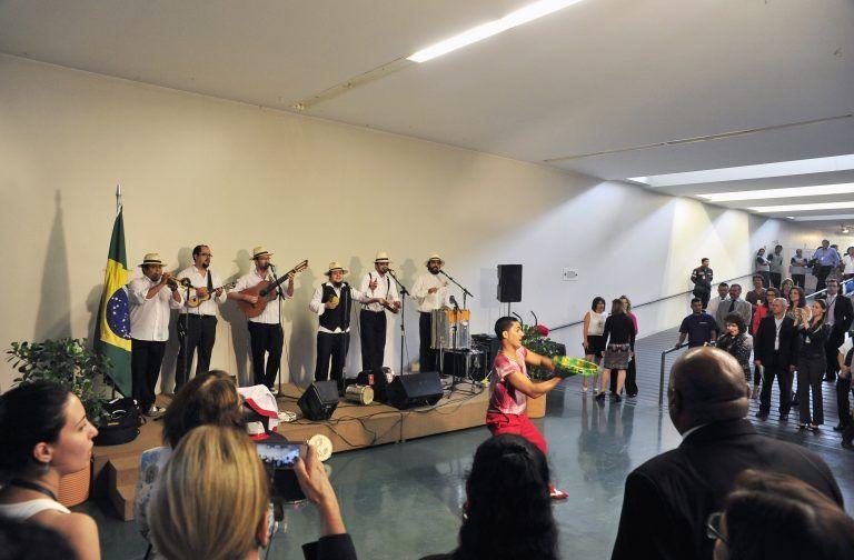 Manifestos Culturais em comemoração ao Dia Nacional do Samba, em 2014 - (Foto: Luis Macedo / Câmara dos Deputados)