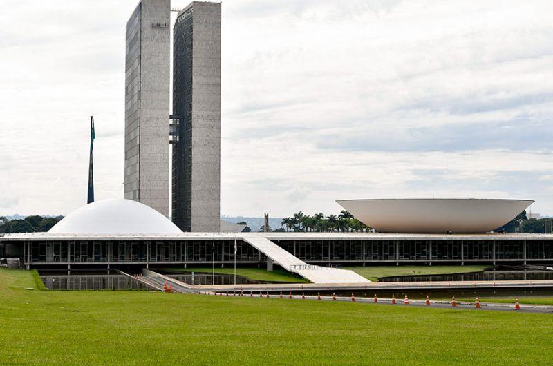 O decreto foi promulgado pelo presidente do Congresso, Rodrigo Pacheco - Geraldo Magela/Agência Senado