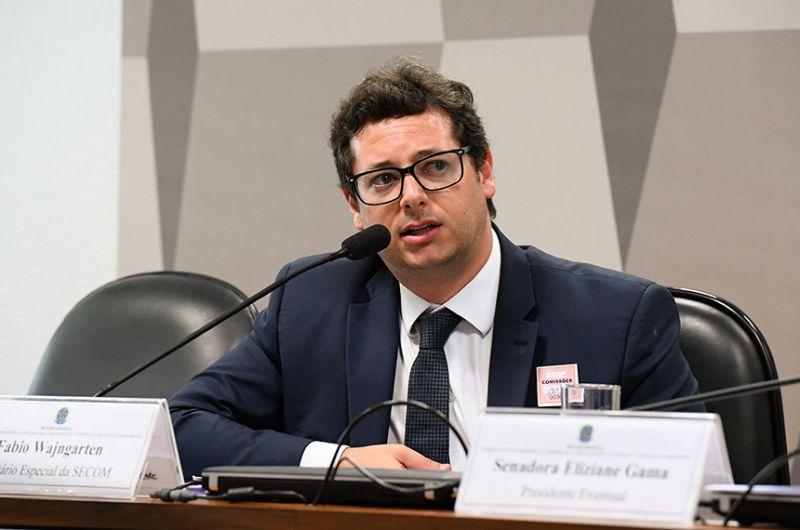 Wajngarten foi chefe da Secretaria de Comunicação do governo federal - Marcos Oliveira/Agência Senado