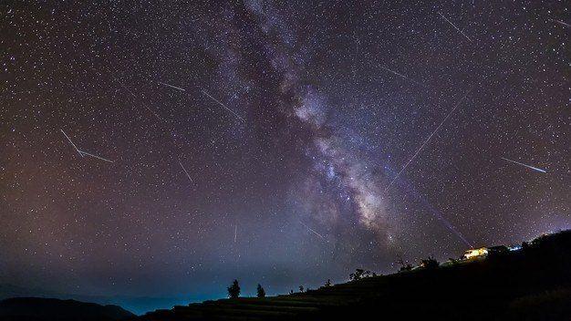 Para acompanhar o fenômeno, não será preciso o uso de nenhum instrumento astronômico - (Foto: Freepik)