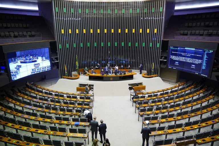 Plenário realiza sessão deliberativa virtual - (Foto: Pablo Valadares/Câmara dos Deputados)