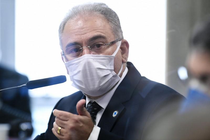 O ministro da Saúde, Marcelo Queiroga - (Foto: Jefferson Rudy/Agência Senado - 08.06.2021)