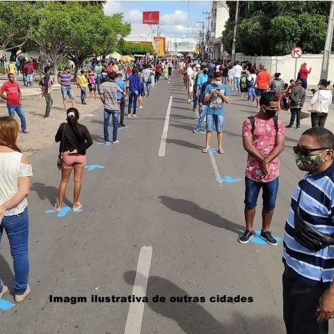 Paulo Afonso BA: Prefeitura acata sugestão e implanta sistema de filas adotado por outros municípios