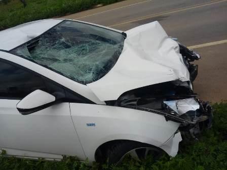 Veiculo no acidente