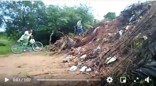 "Jeremoabo BA: o caso da ""barreira do lixo""; com vídeo"