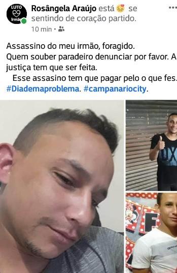 Jeremoabense é morto em São Paulo com golpes de faca