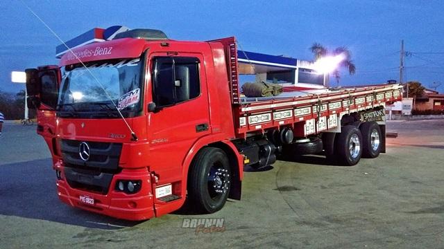 imagem ilustrativa do modelo do caminhão
