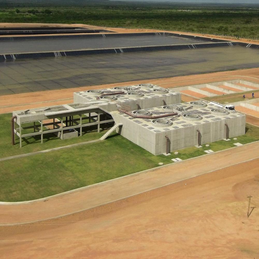 Estação tratamento municipio Ipirá EMBASA