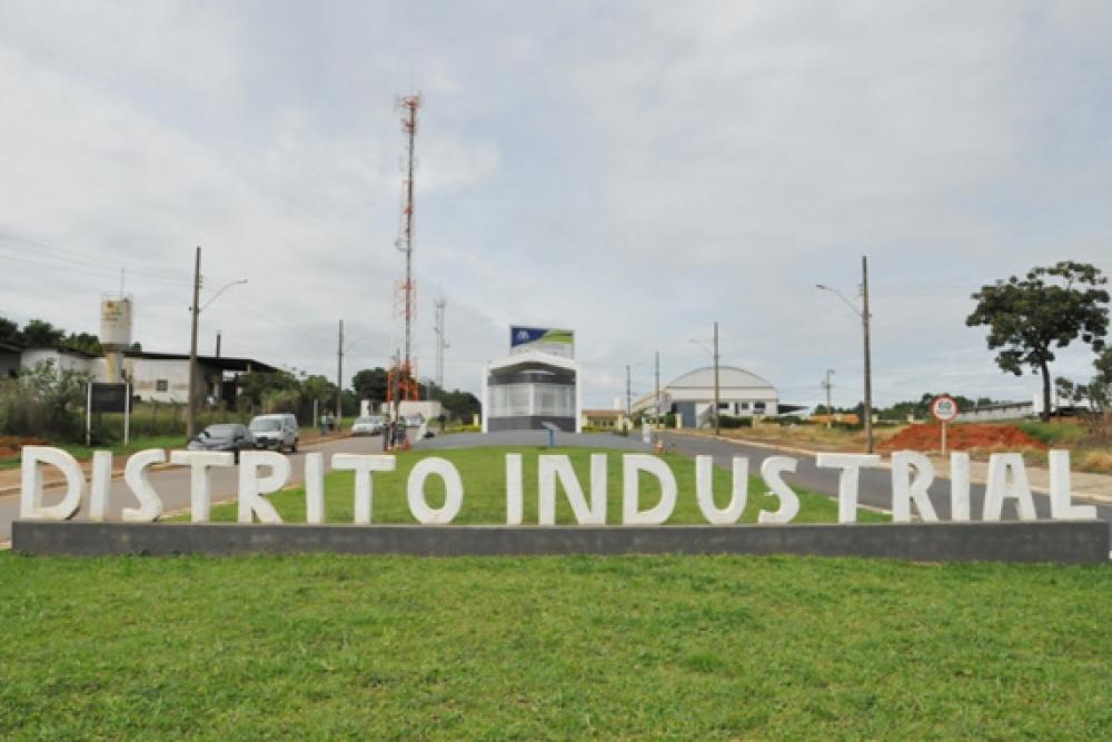 imagem ilustrativa Distrito Industrial Araxá MG