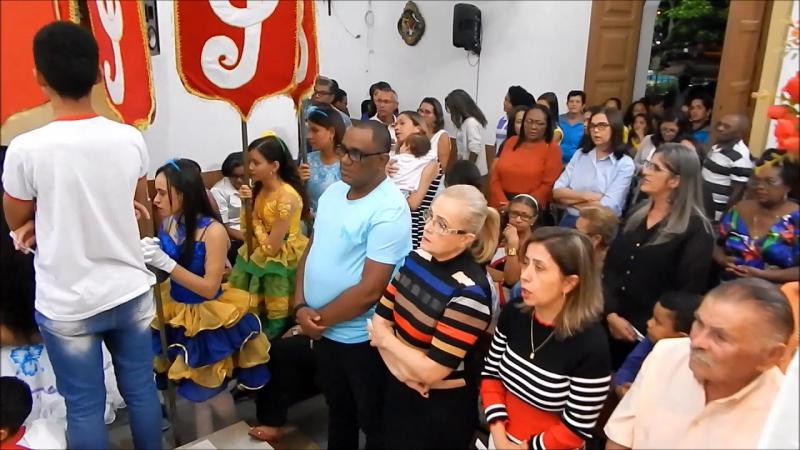 Novena São João Batista Jeremoabo Bahia 1a.; Noite 15 06 2019